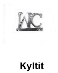 Kyltit- WC,Toilet,Towels...