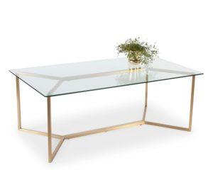 Lasiset sohvapöydät