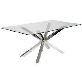 Lasiset Ruokapöydät