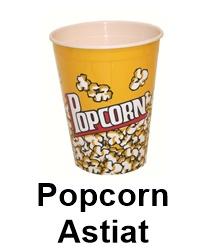 Popcorn ja Snacks astiat