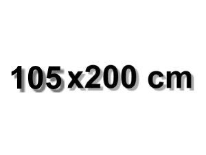 105x200 cm