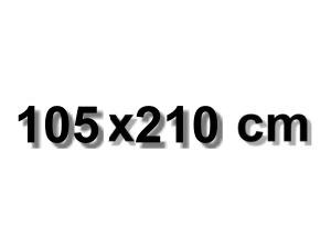 105x210 cm