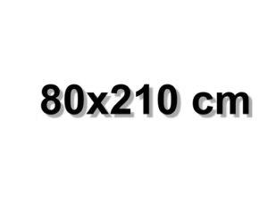 80x210 cm